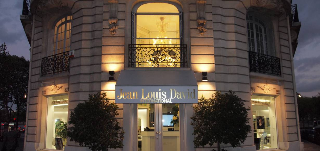 Apertura del salón Jean Louis David International en París